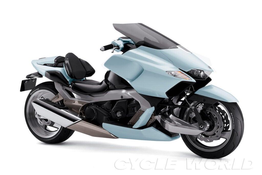 Suzuki got weird with the recliner-inspired moto-scooter G-Strider of 2003.