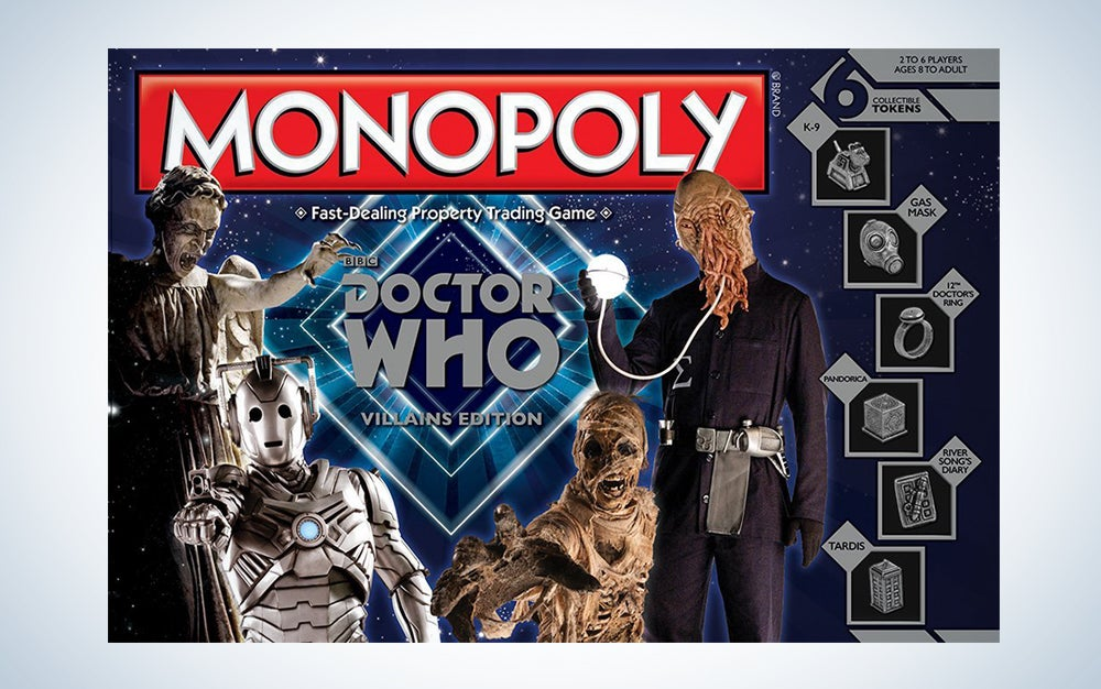 Doctor Who Villains Monopoly