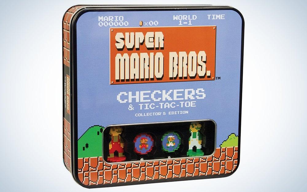 Mario Bros Checkers