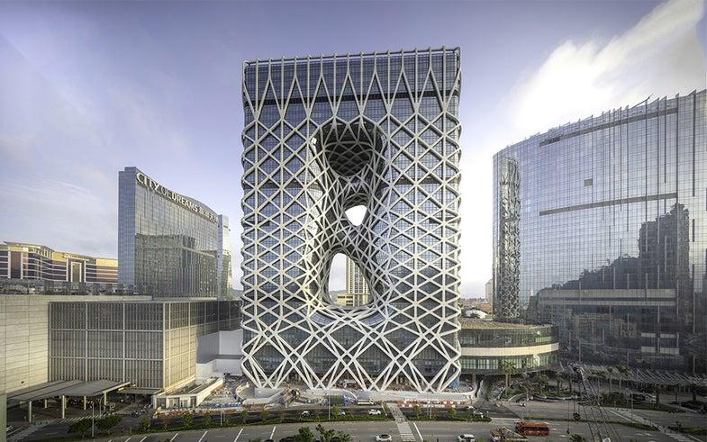 Morpheus Hotel by Zaha Hadid Architects in Macau, China