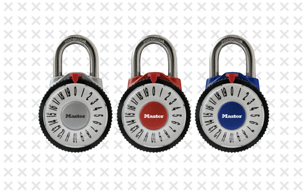 Magnification Combination Padlock by Master Lock