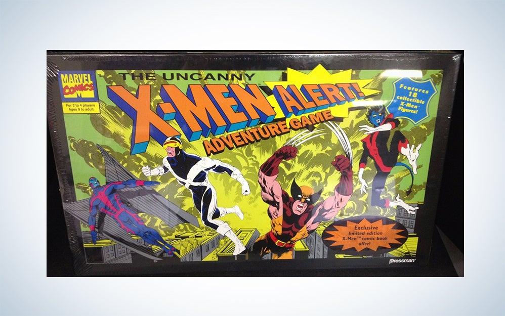 The Uncanny X-Men Alert! adventure game