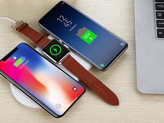 iPM 3-in-1 Fast Wireless Charging Pad