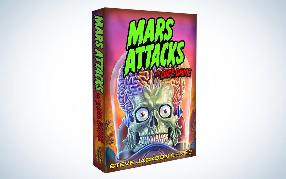 Mars Attacks dice game