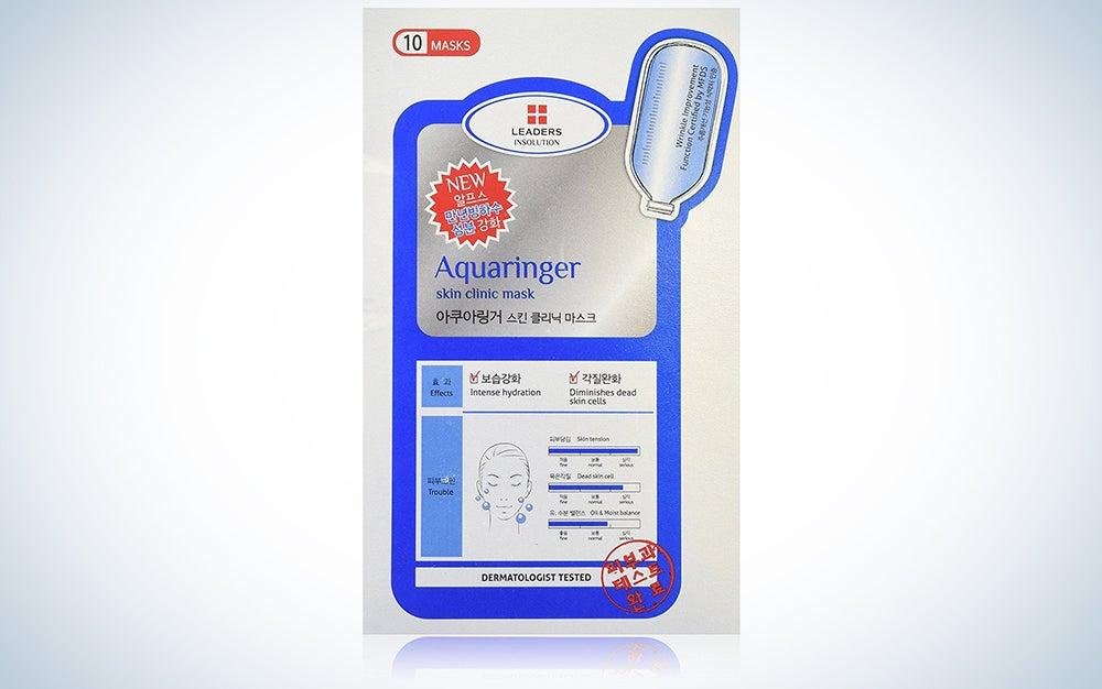 Leaders Clinic Aqua Ringer Sheet Mask