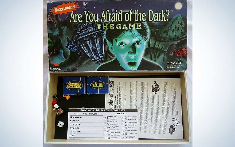 Are You Afraid of the Dark Board Game