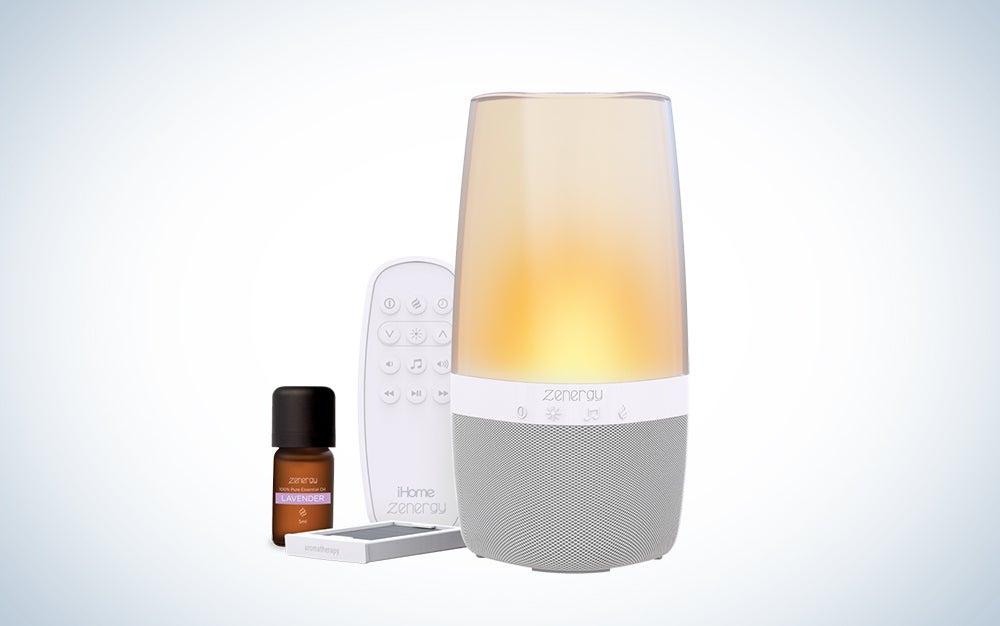 "iHome Zenergy ""Aroma"" Bluetooth Speaker"