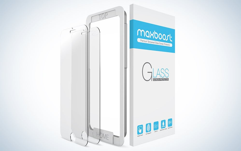 Maxboost tempered glass phone screen protectors