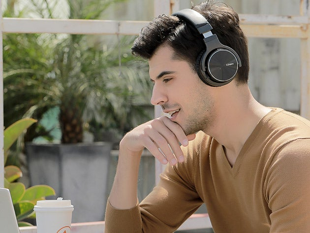 Cowin E7 Pro Noise-Cancelling Over-Ear Wireless Headphones