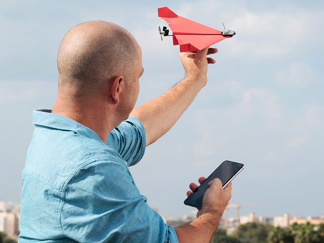 POWERUP 3.0 Smartphone Controlled Paper Airplane Kit