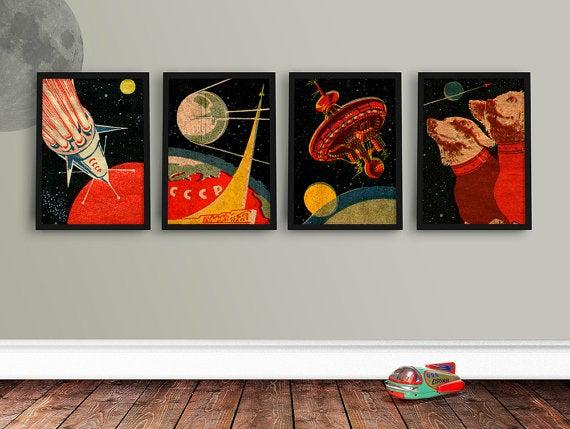 Soviet Space Prints