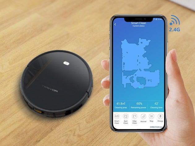 Tesvor Robot Vacuum with Voice Control