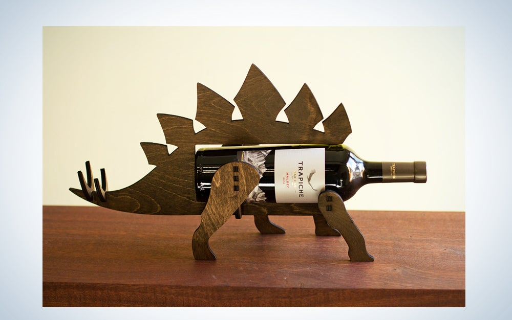 Dinosaur Wine Holder