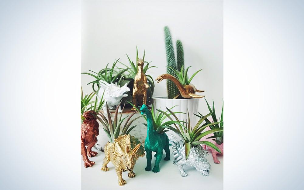 Dinosaur Planter