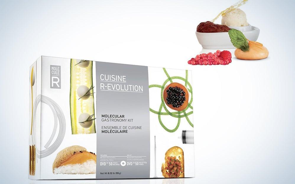 Molecule-R Cuisine R-Evolution.