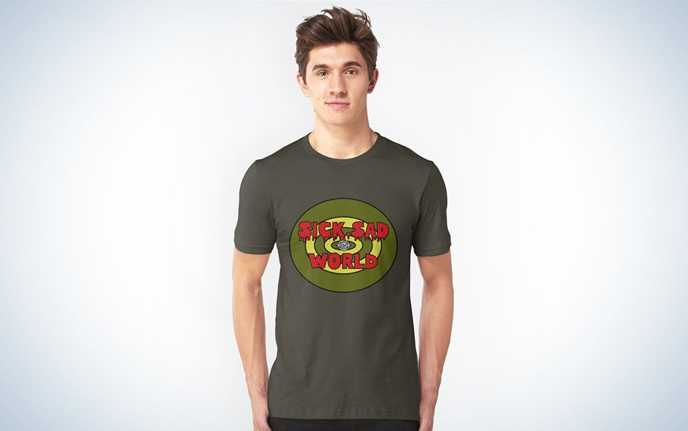 a sick sad world t-shirt