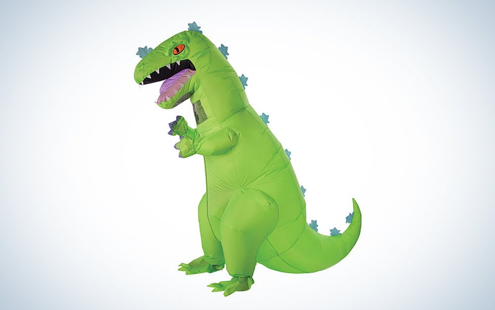 a giant inflatable reptar