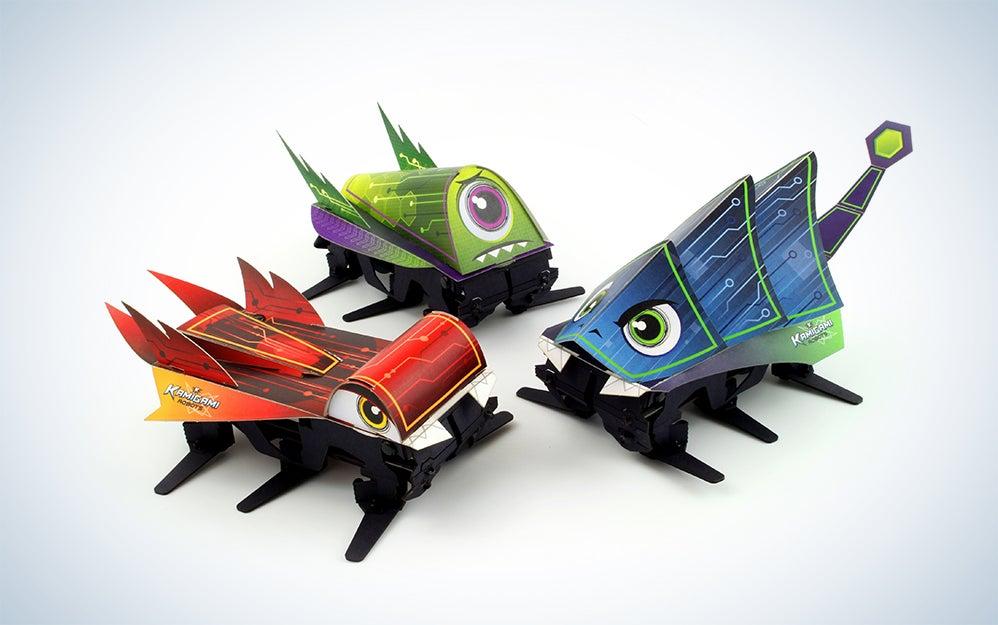 Kamigami foldable robots