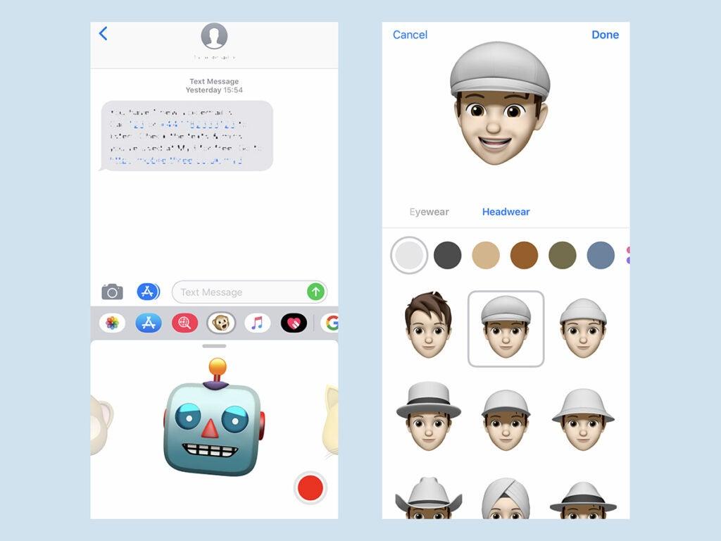 iOS Memoji