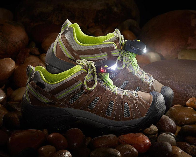 lights on running shoes