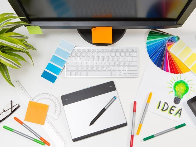 This course will help you learn graphic design in one month