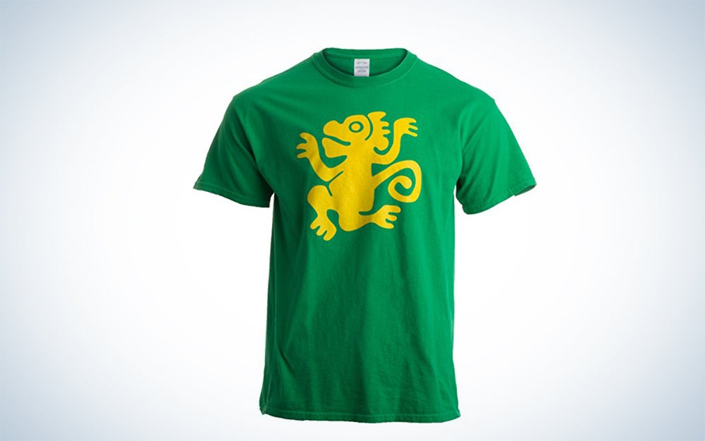 Green monkeys shirt