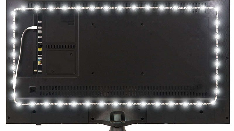 A cheap set of LEDs is the best way to upgrade your fancy new TV
