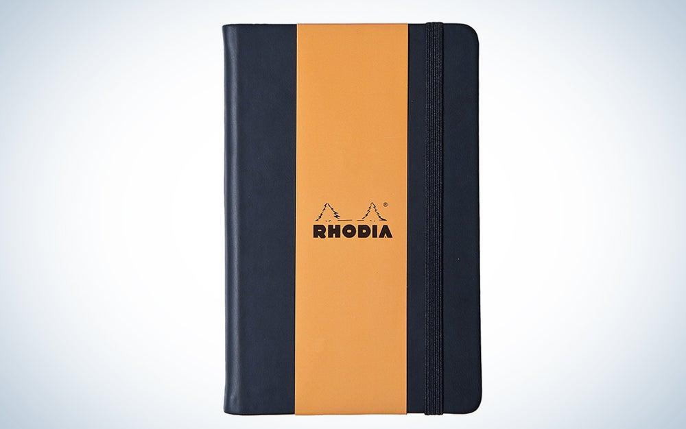Rhodia Black Dot Grid Webnotebook
