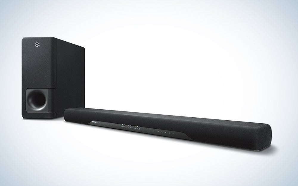 Yamaha YAS-207 Sound bar with Bluetooth and Wireless Subwoofer