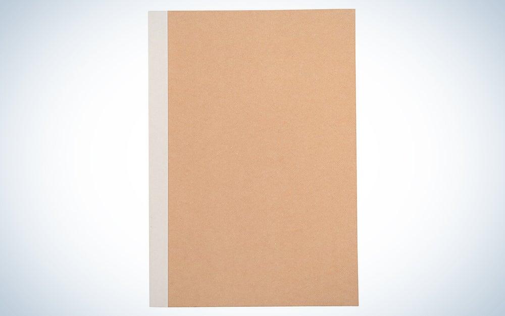 muji dot-grid notebook
