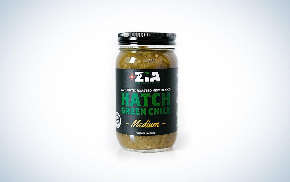 Zia Green Chile Company Hatch Green Chile