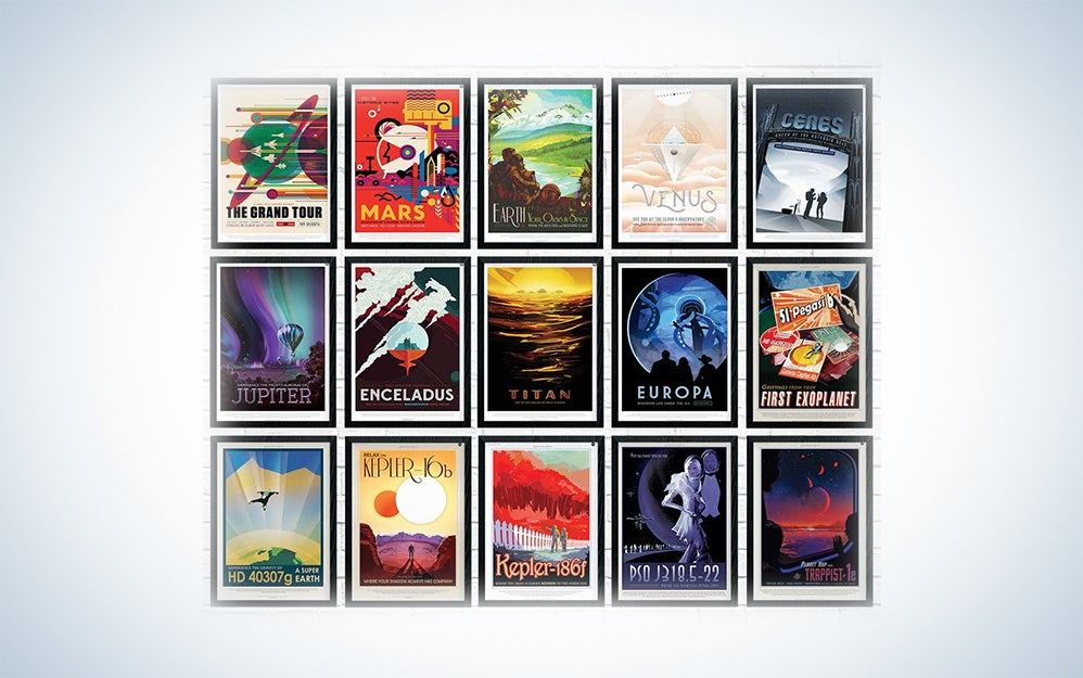 NASA vintage travel posters