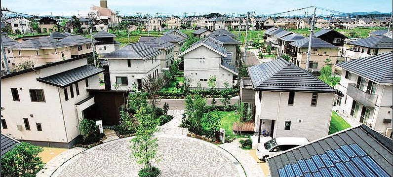 microgrid in housing complex