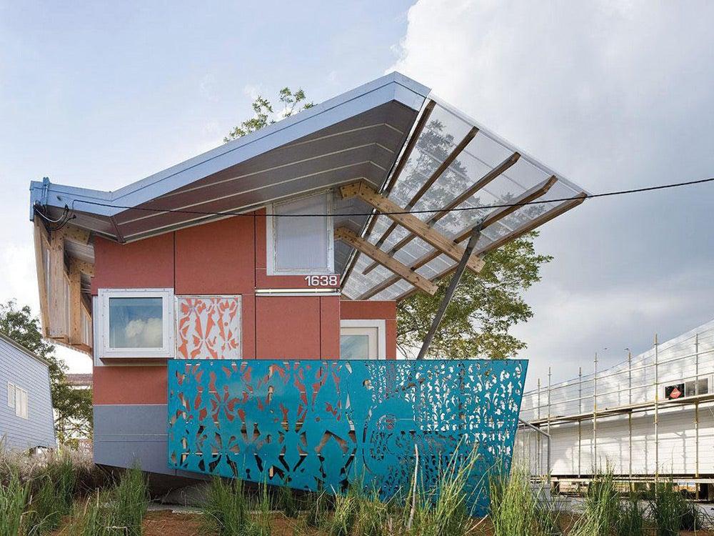 power-generating house