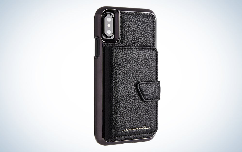 a black cell phone case