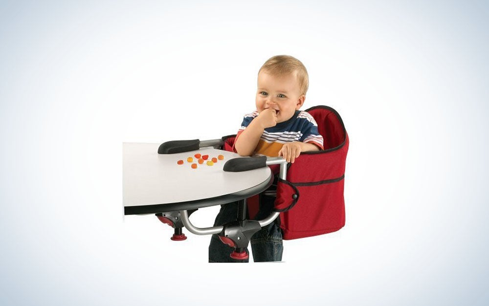 A portable high-chair for any table