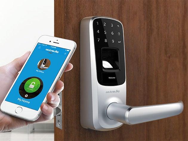 Ultraloq UL3 Bluetooth Fingerprint and Touchscreen Smart Lock