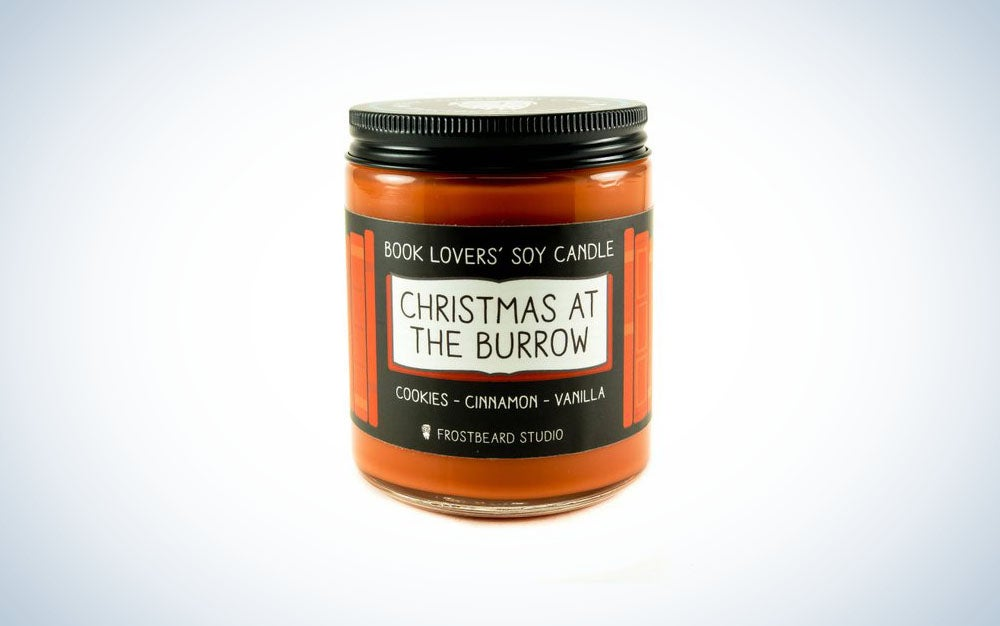 A nice smelling candle