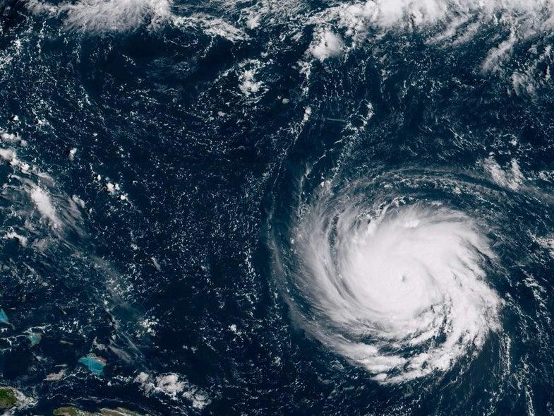 Hurricane Florence in the Atlantic