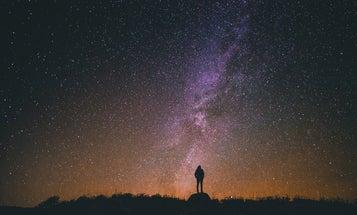 Why is the night sky dark?