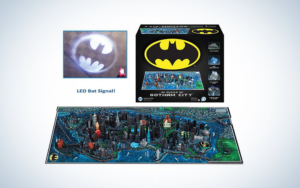Gotham City Batman puzzle
