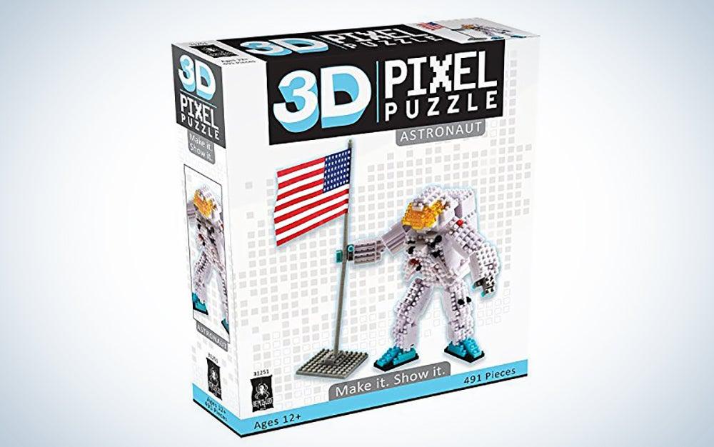 BePuzzled Deluxe 3D Pixel Puzzle