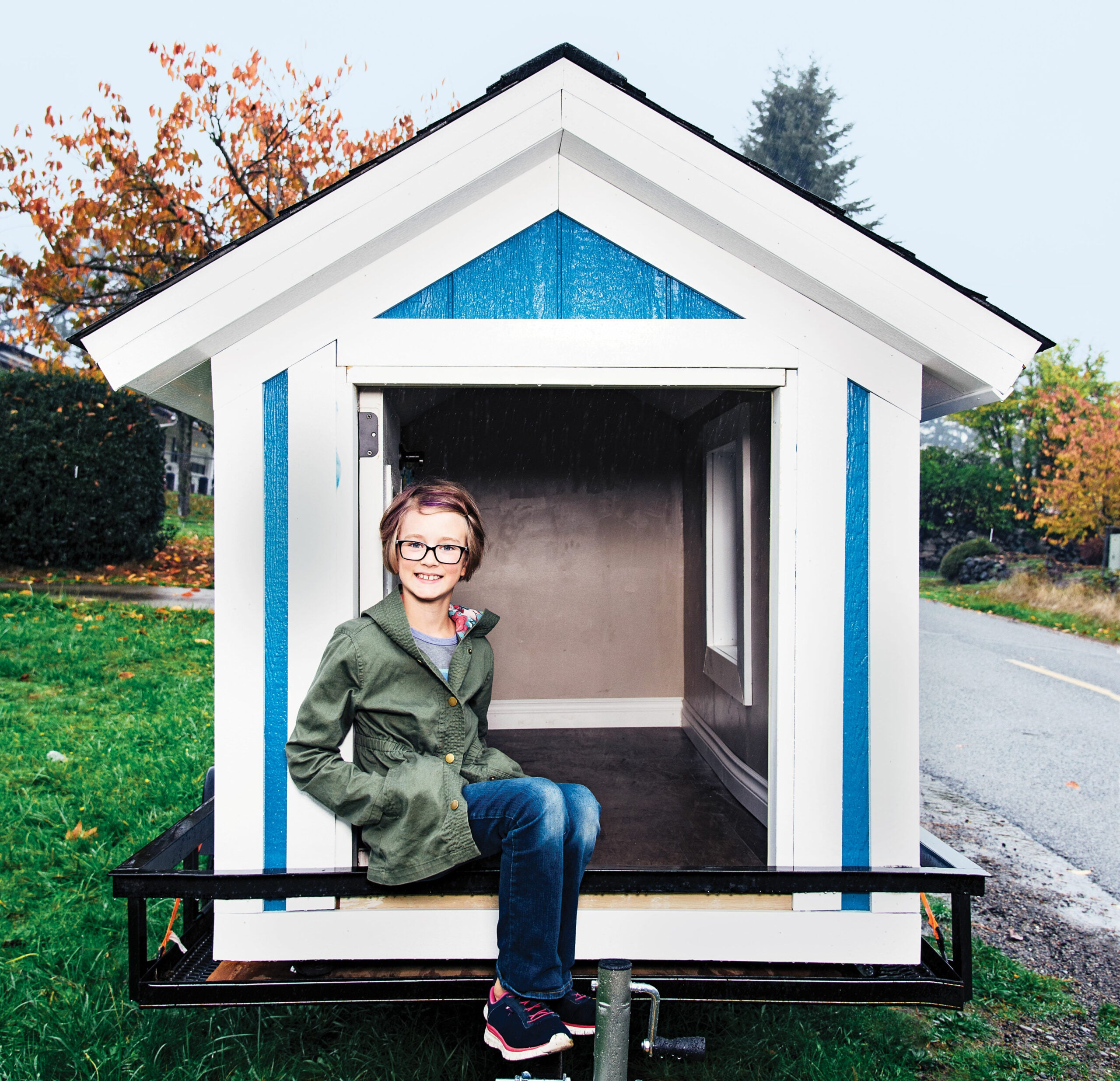 tiny home builder Hailey Fort