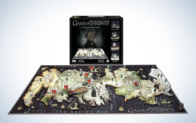 4D Game of Thrones: Westeros Puzzle