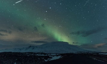 How to photograph a meteor shower