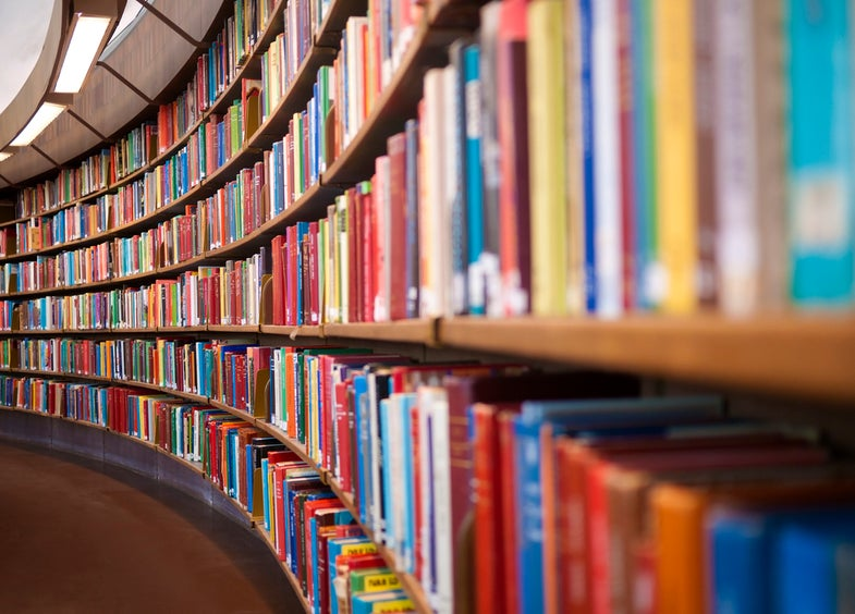 Library books collective memory