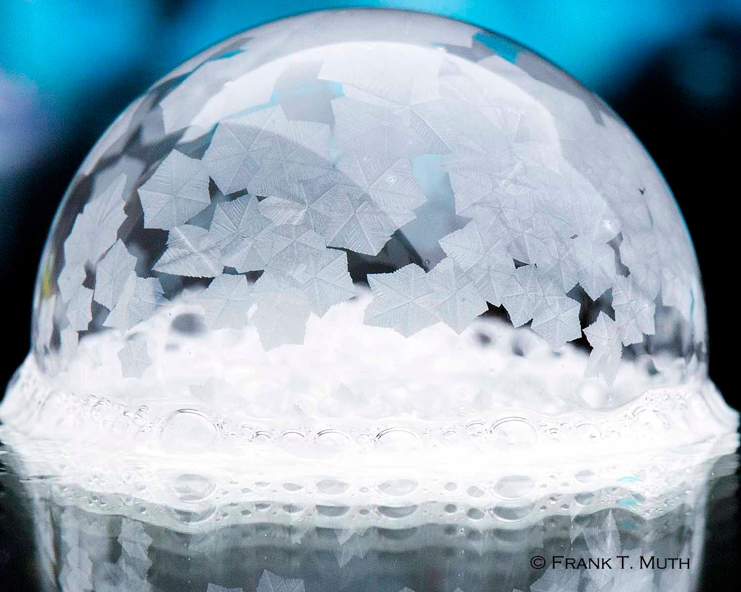 We asked for your best photos of frozen soap bubbles—and wow, did you deliver
