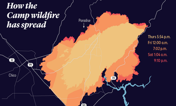 Visualizing California's current fires, some of the deadliest and most destructive on record