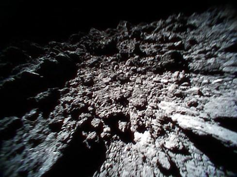 A rocky surface