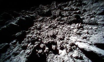 Watch a movie made by a robot—on the surface of an asteroid